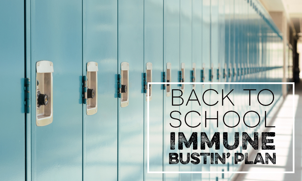 Immune System: Boosting for Back to School
