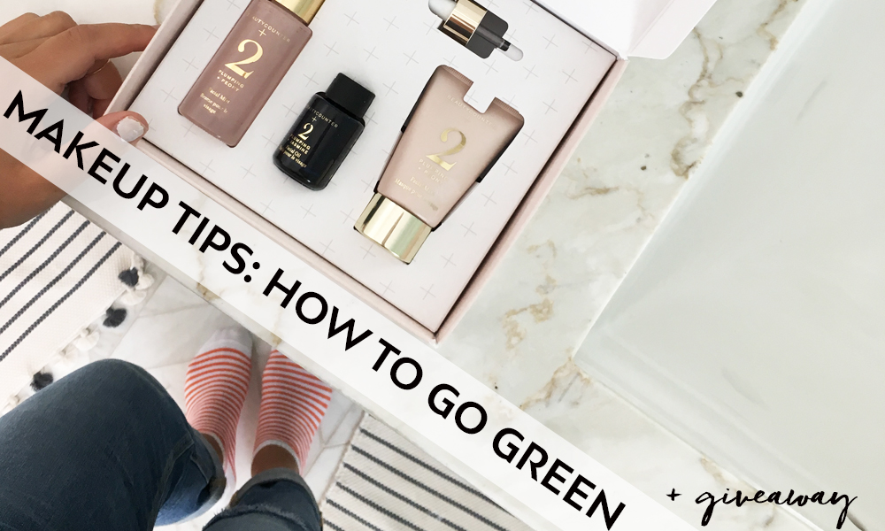 Makeup Tips: How To Go Green. [+ Giveaway!]