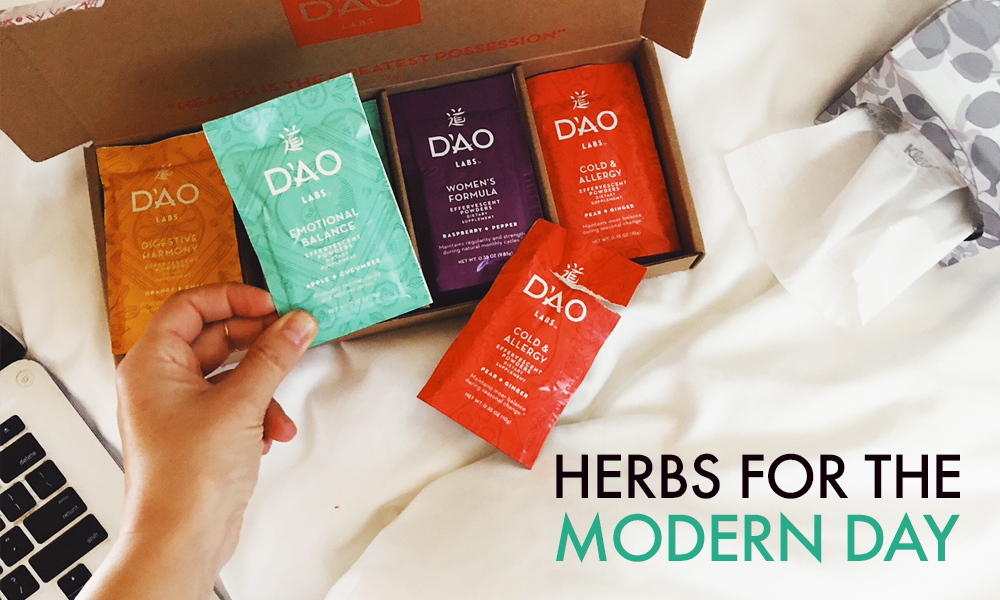 Getting Our Herbs on with DAO Labs (+ GIVEAWAY)